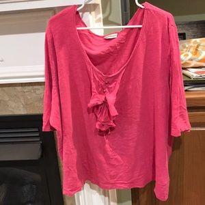 Avenue Ladies size 30/32 blouse